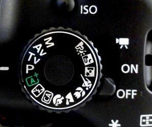 Перемикач режимів зйомок фотоапарата