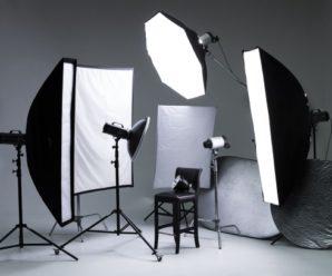 Робота зі світлом у фотографії – види світлових приладів