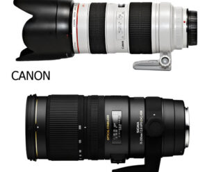 Об'єктивний батл – Canon та Sigma 70–200 mm.