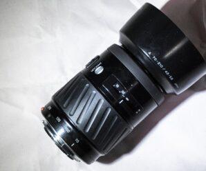 Об'єктив Minolta AF ZOOM 70-210mm 1:4.5-5.6 – чи є у нього майбутнє